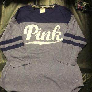 3/4 sleeve Pink t-shirt